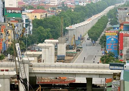 Hà Nội đề xuất nâng vốn đường sắt đô thị số 2 ảnh 1