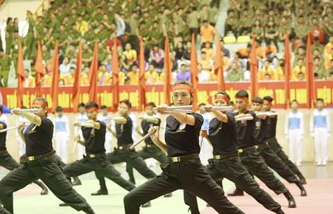 Khai mạc Hội thi bắn súng, võ thuật CAND ảnh 1