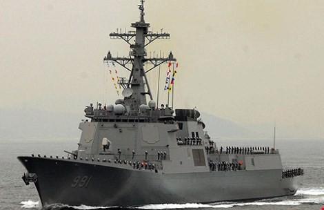Hàn Quốc điều tàu chiến chờ Triều Tiên ảnh 1