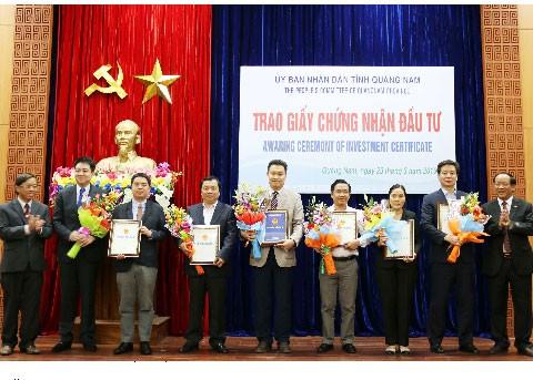Gần 550 triệu USD và 1.685 tỷ đồng đầu tư Quảng Nam ảnh 1