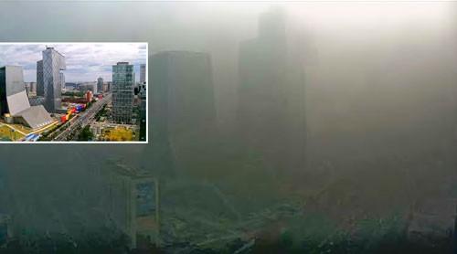 SOS ô nhiễm châu Á (K1): Bắc Kinh không mặt trời ảnh 1
