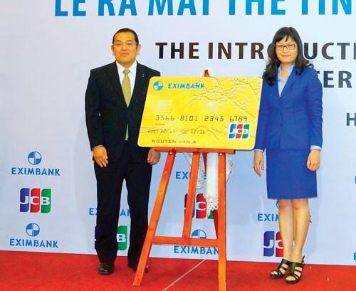 Ra mắt thẻ tín dụng quốc tế Eximbank-JCB ảnh 1