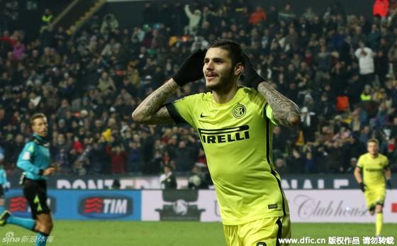 Đại thắng 4-0, Inter xây chắc ngôi đầu ảnh 1
