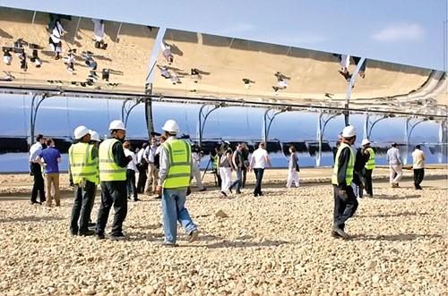 Ai Cập: Dân sản xuất điện mặt trời ảnh 1