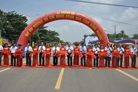 Thông xe đường Hồ Chí Minh đoạn tỉnh Đắk Nông-Bình Phước ảnh 1