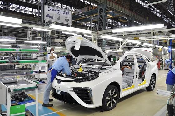 Sản lượng công nghiệp Nhật Bản tiếp tục giảm ảnh 1