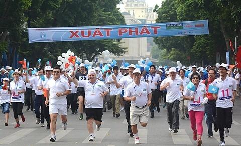 310.000 người tham gia giải chạy Vì Hòa Bình ảnh 2