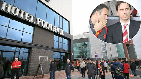 Giggs và Neville méo mặt vì Hotel Football thua lỗ ảnh 1