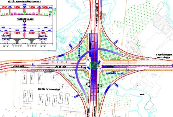 1.580 tỷ đồng xây nút giao Mỹ Thủy-đường vành đai 2 ảnh 1