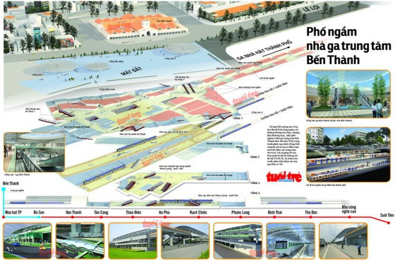 """Dự án tuyến metro số 2 """"đội vốn"""" 726 triệu USD ảnh 1"""
