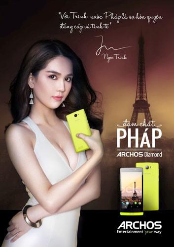 Archos tung điện thoại giá bình dân thị trường Việt Nam ảnh 1