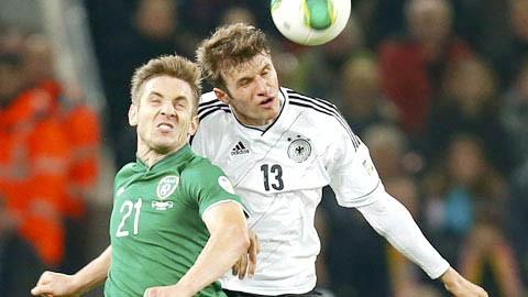 Ireland-Đức: Mở hội bàn thắng ảnh 1