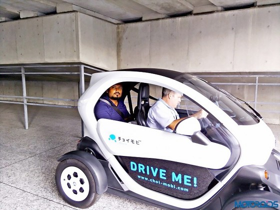 Ô tô điện 2 chỗ ngồi độc đáo của Nissan ảnh 1