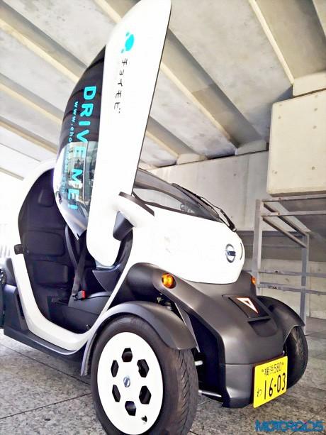 Ô tô điện 2 chỗ ngồi độc đáo của Nissan ảnh 3
