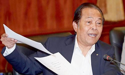 Chủ tịch LĐBĐ Thái Lan bị FIFA treo ghế ảnh 1