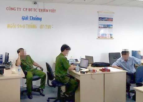 Bộ Công an đánh úp sàn vàng lậu TPHCM ảnh 1