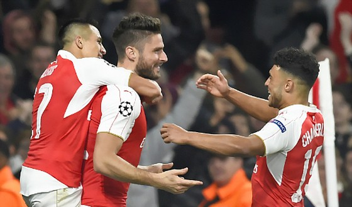 Giroud tỏa sáng giúp Arsenal đánh bại Bayern ảnh 1