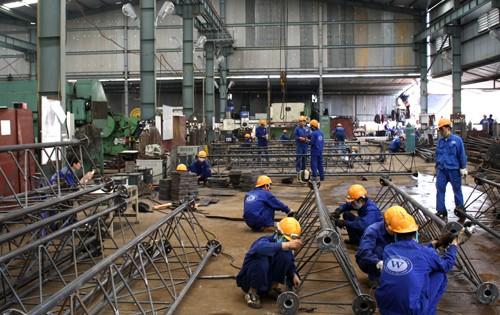 Chỉ số sản xuất công nghiệp tăng 9,7% ảnh 1