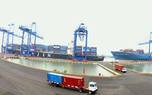 Lượng tàu vào cảng Cái Mép tăng 40% ảnh 1