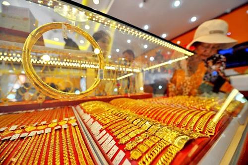 Giá vàng tăng phiên mở cửa đầu năm ảnh 1