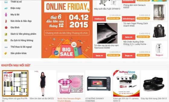 60.000 sản phẩm khuyến mãi ngày mua sắm trực tuyến ảnh 1