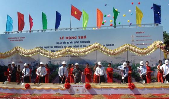 2.335 tỉ xây đường nối Phạm Văn Đồng-QL1 ảnh 1