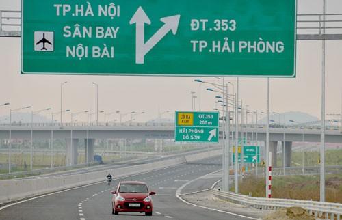 Hôm nay thông xe toàn tuyến cao tốc Hà Nội–Hải Phòng ảnh 2