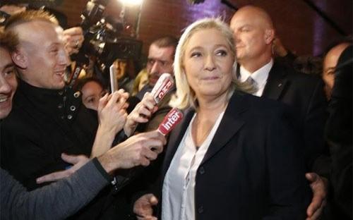Phe cực hữu thắng lớn bầu cử Pháp ảnh 1