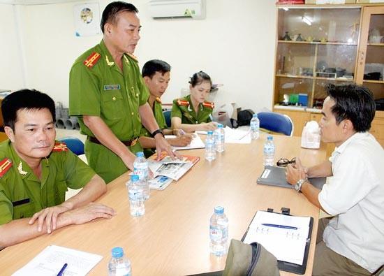 Lãnh đạo Cảnh sát PCCC Bình Tân xin lỗi DN ảnh 1