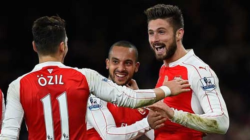 Arsenal hạ gục Manchester City ảnh 1
