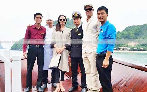 Angelina Jolie và Brad Pitt tới Việt Nam ảnh 1