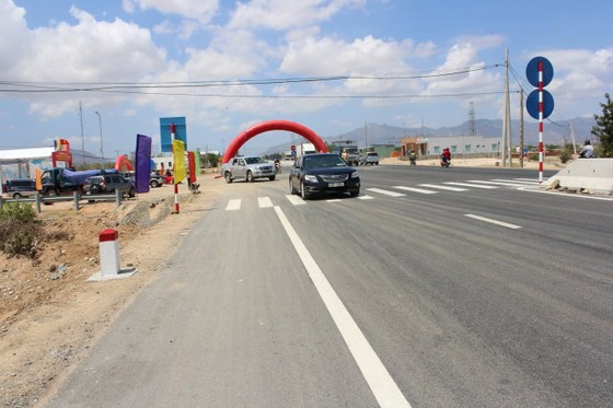 Thông xe mở rộng Quốc lộ 1 qua Ninh Thuận ảnh 1