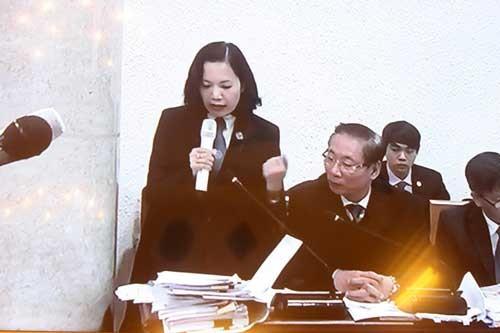 Tranh luận căng thẳng phiên xử đại án Agribank ảnh 2
