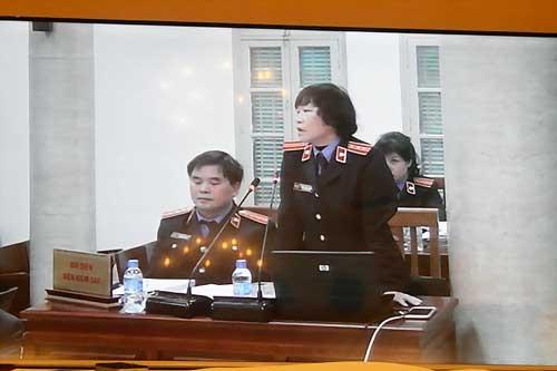 Tranh luận căng thẳng phiên xử đại án Agribank ảnh 1