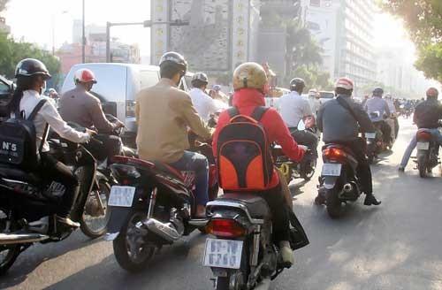 Sài Gòn trộn làn xe từ lâu, giờ Pháp sắp thử nghiệm ảnh 1