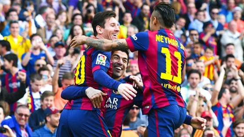 Barca vs Betis: Trên đỉnh 2015 ảnh 1