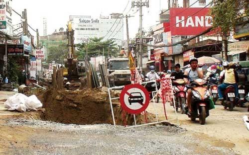 TPHCM ngưng đào đường 15 ngày tết ảnh 1