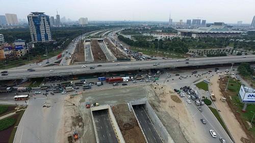 Hà Nội: 2 hầm chui lớn nhất sắp thông xe ảnh 2