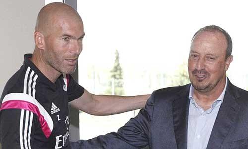 Tạm biệt Benitez, chào Zidane! ảnh 1