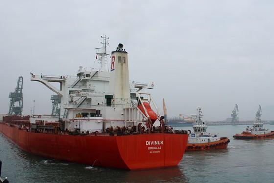 Cảng Sơn Dương đón tàu trọng tải 170.000 tấn ảnh 1