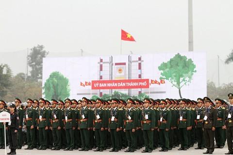 Xuất quân bảo vệ Đại hội Đảng toàn quốc lần thứ XII ảnh 2