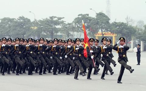 Xuất quân bảo vệ Đại hội Đảng toàn quốc lần thứ XII ảnh 3