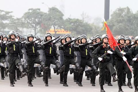 Xuất quân bảo vệ Đại hội Đảng toàn quốc lần thứ XII ảnh 6