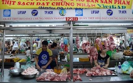 Thêm 25 điểm bán thịt heo đạt chuẩn VietGAP ảnh 1