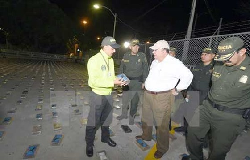 Colombia tịch thu 4 tấn cocaine ảnh 1