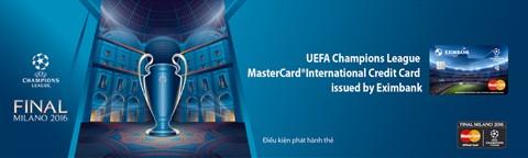 Eximbank ra mắt thẻ UEFA Champions League ảnh 1