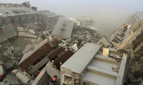 Đài Loan huy động quân đội tìm người sau động đất ảnh 1
