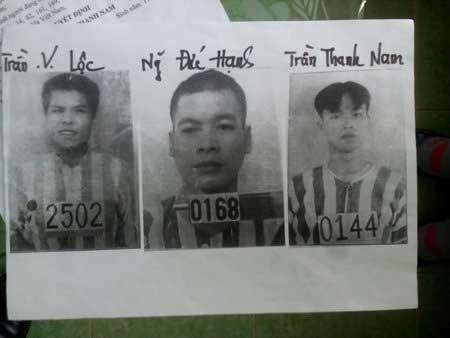 Truy nã đặc biệt 3 phạm nhân vượt ngục ảnh 1
