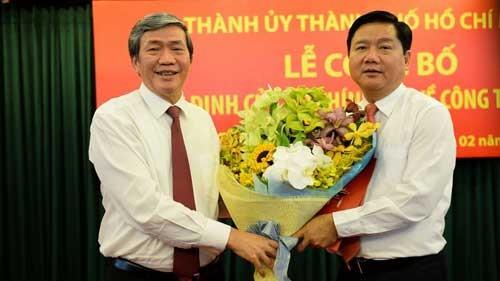 Ông Đinh La Thăng làm Bí thư Thành ủy TP.HCM ảnh 1