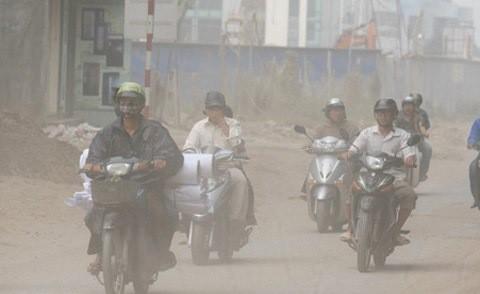 Báo động ô nhiễm không khí Hà Nội ảnh 1